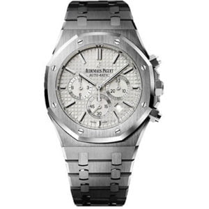 Audemars Piguet Watches - Royal Oak Chronograph 41mm - Stainless Steel Silver Dial