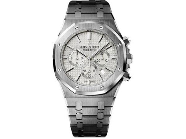 Audemars Piguet Watches - Royal Oak Chronograph 41mm - Stainless Steel Silver Dial