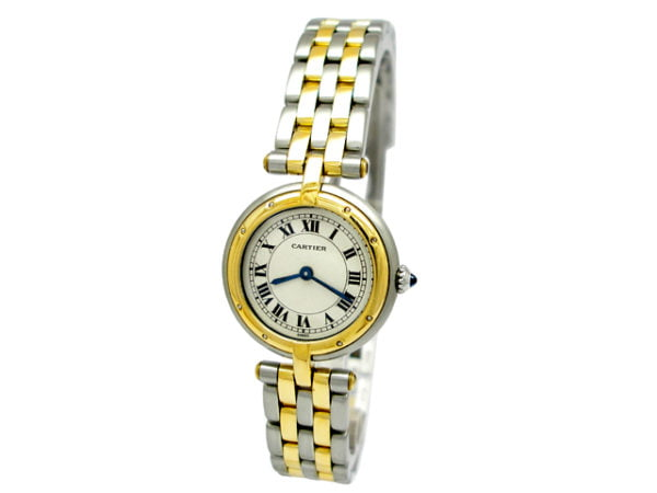 Lady Cartier 18K Gold & Stainless Steel Panthere Watch