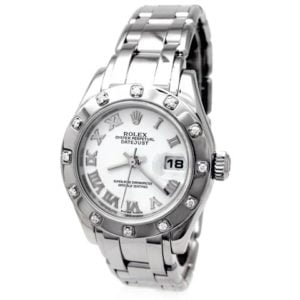 Rolex Ladies Pearlmaster 80319