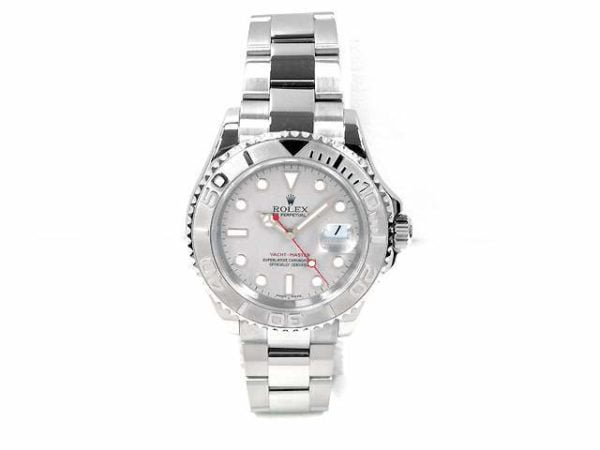 Rolex Stainless Steel Oyster Perpetual Yachtmaster Watch