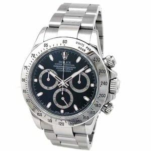 Gents Rolex Stainless Steel Oyster Perpetual Daytona Cosmograph Watch 116520