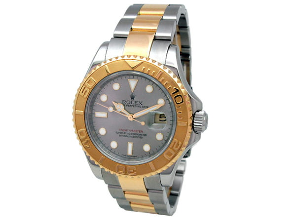 Gents Rolex 18k Gold & Stainless Steel Oyster Perpetual Yachtmaster Watch