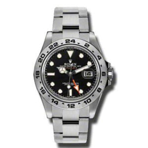 Gents Rolex Stainless Steel Oyster Perpetual Explorer II Watch. 216570.
