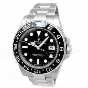 Gents Rolex Stainless Steel Oyster Perpetual GMT-Master II Watch 116710