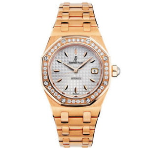 Audemars Piguet Watches - Royal Oak Lady Selfwinding 33mm - Pink Gold