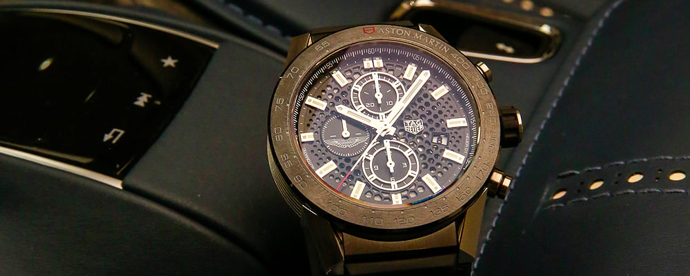 A Closer Look at the Limited Edition TAG Heuer and Aston Martin Watches