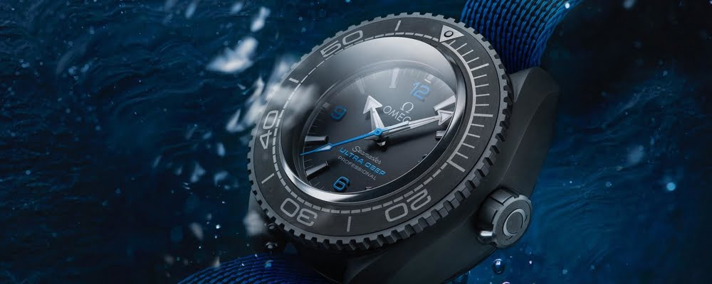 The World's Deepest Dive Watch: Omega Seamaster Planet Ocean Planet Ultra Deep Professional