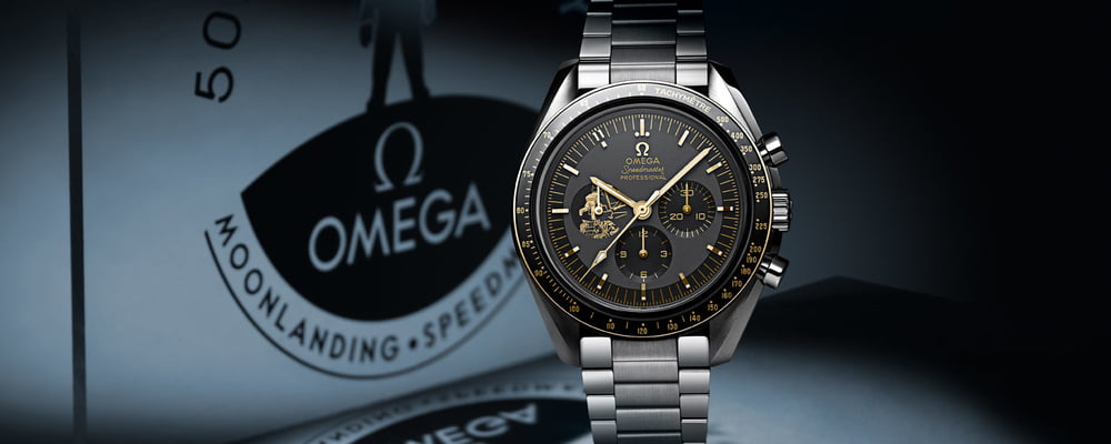 Omega Releases Two New Watches to Commemorate Apollo 11 50th Anniversary